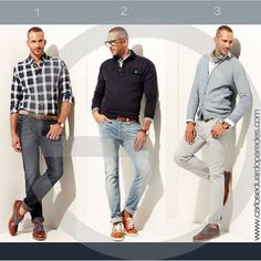 1, 2 ó 3 ¿Cuál es tu look favorito?
