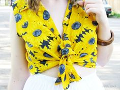 sunflowers outfit @ comfy space