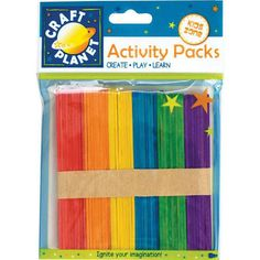 Multi-coloured lollipop sticks - for asking targeted, differentiated questions.