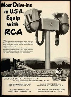 citizendev: some more Atomic Samba (via living-in-retro-world) Drive Inn Movies, Drive In Movie Theater, Old Advertisements, Retro Advertising, Vintage Ads, Vintage Photos, Architecture Tattoo, Old Ads, The Good Old Days