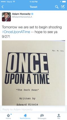Adam Horowitz - Season 5's Upcoming first episode - IM SO SCARED AND EXCITED AT THE SAME TIME