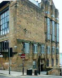 Glasgow School of Art (1896-99) by Charles Rennie Mackintosh