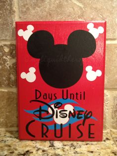 Mickey Disney Cruise Vacation Chalkboard by LiquidTherapy on Etsy Disney Magic Cruise, Run Disney, Disney Diy, Disney Crafts, Disney Love, Disney Stuff, Disney Ideas, Disneyland Vacation, Cruise Vacation