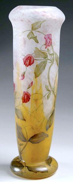 IMAGE: A monumental Daum Nancy cameo and enameled vase daum nancy Year: 1901 - 1925