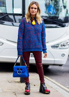 43 of the Most Amazing Street Style Looks From London Fashion Week f8de5caa3a89