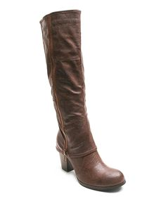 Loving this 2 Lips Too Brown Too Lapel Boot on #zulily! #zulilyfinds