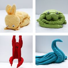 Having Overnight Guests? Leave Them A Cute Surprise With These 4 Cuddly Towel Animals