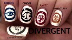 divergent Tattoo Drawings | Divergent Nail Art