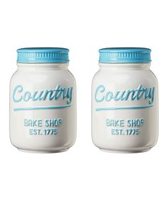 Look at this #zulilyfind! Dixie 'Country' Storage Canister - Set of Two by Global Amici #zulilyfinds