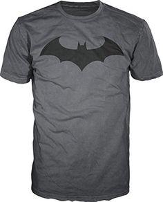 Batman Hush Logo Signal Mens Charcoal T-shirt XL @ niftywarehouse.com #NiftyWarehouse #Batman #DC #Comics #ComicBooks