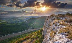 Крым. Мангуп. Осенний пейзаж