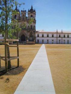 Recalificación del área de entorno al Monasterio de Sta María   ESTUDIO MARTA BYRNE   PAISAJISMO   MADRID   LISBOA