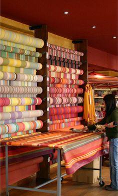 Saint Laurent de Cerdans is a charming village where you will find Les Toiles du Soleil.  Wonderful fabrics!