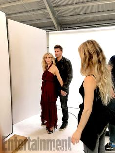 Sarah Michelle Gellar and David Boreanaz