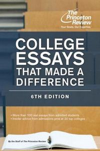 College Essays That Made a Difference Q2633