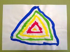 Grafisme a partir d'un triangle (gomet)