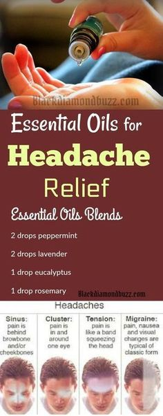 Essential Oils for Headache Relief - If you are suffering frequently from several types of headaches — migraines, sinus, and tension. Try this essential oil blend in your diffuser for quick relief from headache. Add this essential oil blend to your diffus Essential Oils For Headaches, Essential Oil Uses, Doterra Essential Oils, Young Living Essential Oils, Essential Oil Diffuser, Diffuser Diy, Diffuser Blends, Fibromyalgia Essential Oils, Essential Oil Sinus Headache
