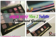 Urban Decay Vice 3 Palette Review and #Giveaway