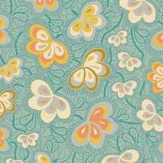 Art Gallery Fantasia Magicflys Nest Spark Fabric - Sara Lawson - Fabric by Designer - Fabric