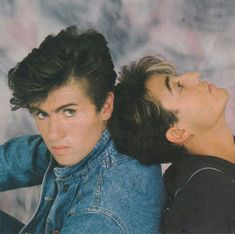 George and Andrew George Michael Poster, George Michael Wham, 20th Century Music, George Michel, Musician Photography, Andrew Ridgeley, Michael Love, Tv Show Music, Best Friends Forever