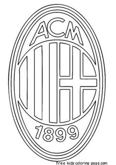 JUVENTUS logo Soccer Colouring pages Free Coloring Pages For