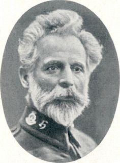 Der Deutsche Carl Treite leitete die Heilsarmee in Deutschland in den Jahren 1914 bis 1919.