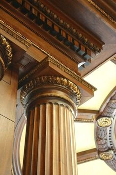 Certainly the Doric order wasn't devoid of decorative embellishment.  Fluting of the column shaft as well as some decorative elements at the capital can soften what can be a plain and almost severe design.