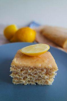 Zitronenkuchen vegan fettarm ohne zucker gesund