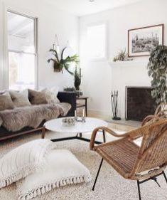 Bohemian style modern living room decor ideas (45)