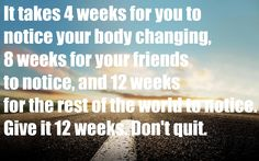Only 12 weeks. Only 12 weeks. Only 12 weeks. Fitness Motivation, Fitness Quotes, Weight Loss Motivation, Fitness Tips, Exercise Motivation, Fitness Friday, Fitness Goals, Skinny Motivation, Workout Quotes