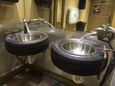 Tire Sinks | Cool Man Cave Ideas To Try This Week | DIY Projects