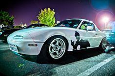 Miata with anime vinyl 8th Anniversary, Mazda, Bmw, Cars, Awesome, Anime, Autos, Car, Cartoon Movies