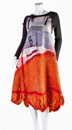 Extraordinary women fashion   reversible wearable by ArianeMariane, €650.00