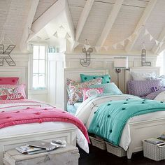 Hampton Classic Bed #potterybarnteen