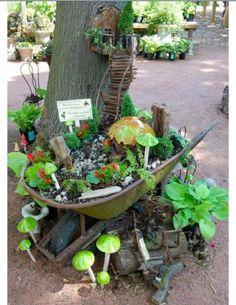 50 DIY Miniature Fairy Garden Design Ideas - Page 2 of 5 - InteriorSherpa, Category diy garden ideas images fairy garden images garden art i