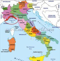 Este es el mapa de donde nacio cristobal colon