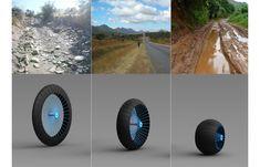 'Roadless': Ackeem Ngwenya's Amazing All-Terrain Shape-Shifting Wheel Design - Core77
