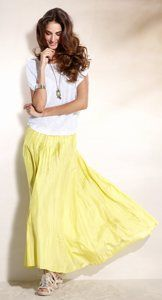 love the long skirt