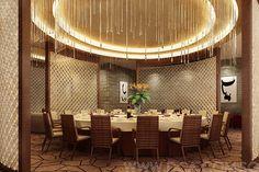 Hotel Chinese Restaurant VIP Room 3D Rendering | Flickr - Photo ...