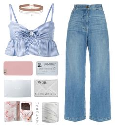 """my number one"" by in-ner-strength ❤ liked on Polyvore featuring Maryam Nassir Zadeh, Rachel Comey, Crate and Barrel, RMK, Miss Selfridge and Ted Baker"