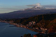 Etna volcano @ Taormina, Sicily by Angelo Ferraris on 500px