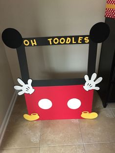 Oh TWOdles Mickey Mouse Clubhouse Birthday Party - bumbar Mickey 1st Birthdays, Mickey Mouse First Birthday, Mickey Mouse Clubhouse Birthday Party, 2nd Birthday Party Themes, Second Birthday Ideas, Mickey Mouse Parties, Mickey Party, Mickey Mouse Photo Booth, 3rd Birthday