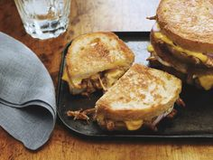 Pulled pork or chicken grilled cheese #KraftGrilledCheese