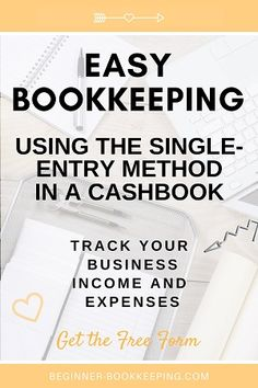 Single Entry Bookkeeping Small Business Bookkeeping, Bookkeeping And Accounting, Accounting Basics, Finance, Knowledge, Marketing, Learning, Easy, Books