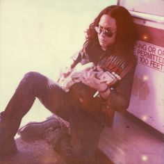 "Photoshoot by Neil Krug: My Chemical Romance's CD liner and other promotional materials for ""Danger Days: The True Lives of the Fabulous Killjoys"". Jet Star/Ray Toro. This may be my favorite photo of Ray Toro ever."