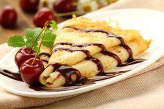 Sacher crepes alla romana. La ricetta della crepe nutella e marmellata alle ciliegie    http://blog.ilpikkio.it/sacher-crepes-alla-romana/#
