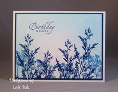 CAS161 Blue Birthday_lb by Clownmom - Cards and Paper Crafts at Splitcoaststampers