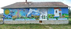 Wishes and dreams on the walls - Bodvalenke, the frescoe village of Hungary Bodvalenke is a tiny village in the north of Hungary, where almost all the inhabitants are Roma.