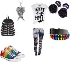 """""""what the hell"""" by piercetheveil98 on Polyvore"""