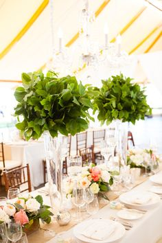 <p>We just adore every classic New England detail in Erica and Shane's Newport, Rhode Island, wedding. From the waterfront venue of Castle Hill Inn to the breathtaking views and lush white flowers from Greenlion Weddings dotting every part of the landscape, we are swooning over these images from Melissa Robotti Photography. An elegant chuppah on the lawn, covered inwhite orchids …</p>